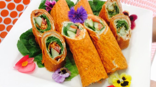 carrot wraps at GoVegan Deli