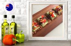 bruschetta flatbread online raw vegan culinary course