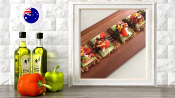 bruschetta flatbread online raw vegan culinary course