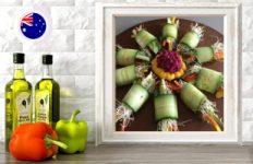 cucumber spring rolls online raw vegan culinary course