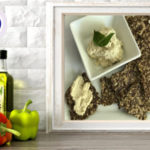 flaxseed linseed crackers with cashew cheese spread online raw vegan culinary course