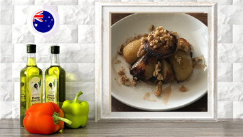 roasted maple syrup pears online raw vegan culinary course
