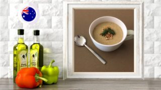 cumin spiced parsnip soup online raw vegan plant based culinary course