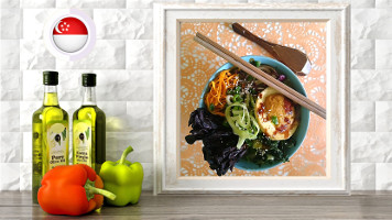 raw vegan broth with noodles and marinated mushroom online raw vegan culinary course