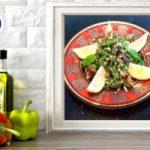 spiced tabbouleh salad online raw vegan plant based culinary course