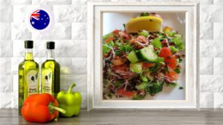 sprouted lentil tabouli online raw vegan culinary course